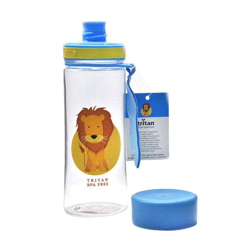 Tokyo1 Botol Minum Lion 400 ml Tritan Biru