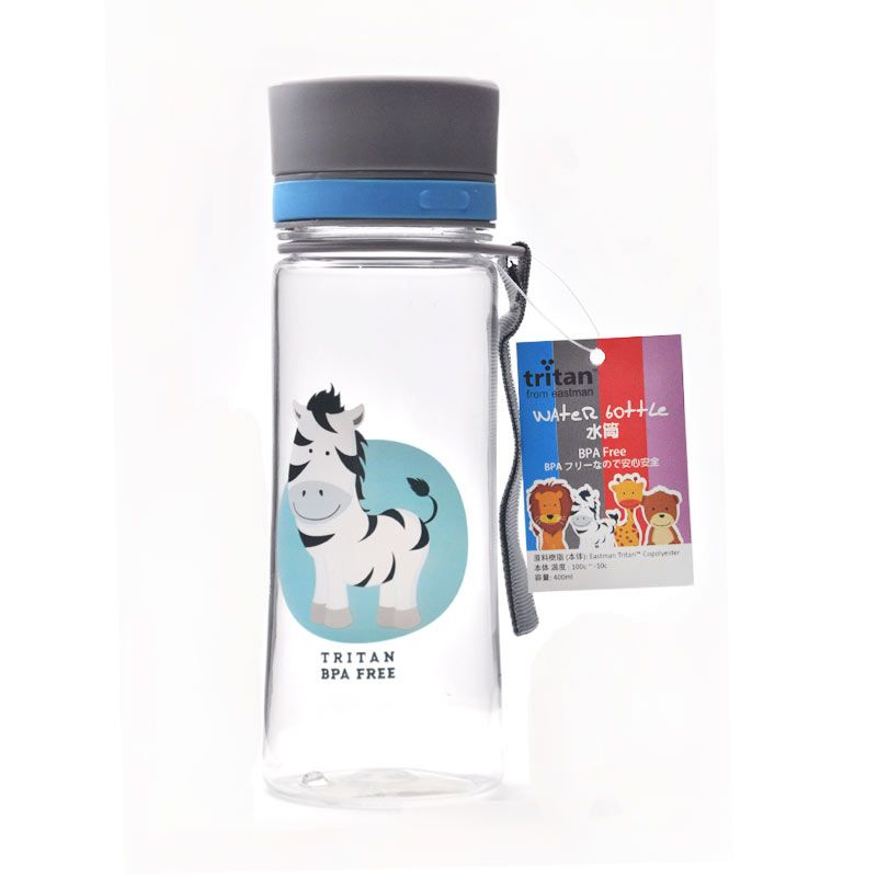 Tokyo1 Botol Minum Zebra-400 mL Tritan Grey