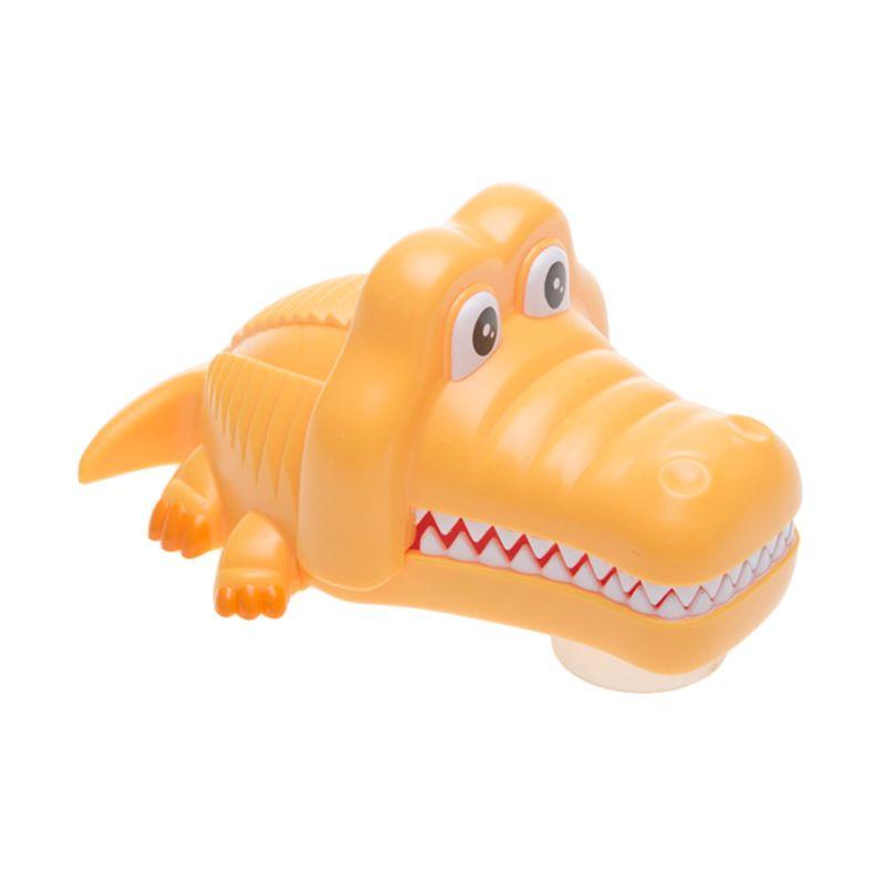 Tokyo1 Crocodile Yellow Toothbrush Holder