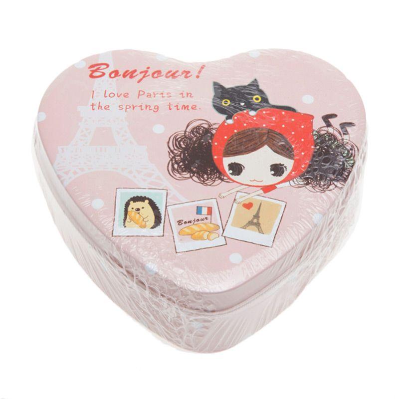 Tokyo1 Heart Bonjour Tin Box [Size M]