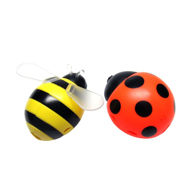 Tokyo1 Lebah dan Kumbang Kuning Oranye Tempat Sikat Gigi