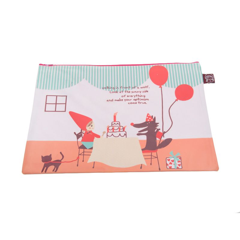 Tokyo1 Little Red Cake A4 Pouch
