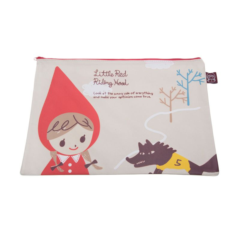 Tokyo1 Little Red Tree A4 Pouch