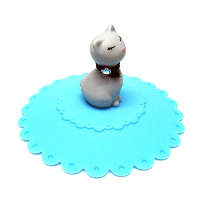 Tokyo1 Model Kucing Biru Tutup Gelas