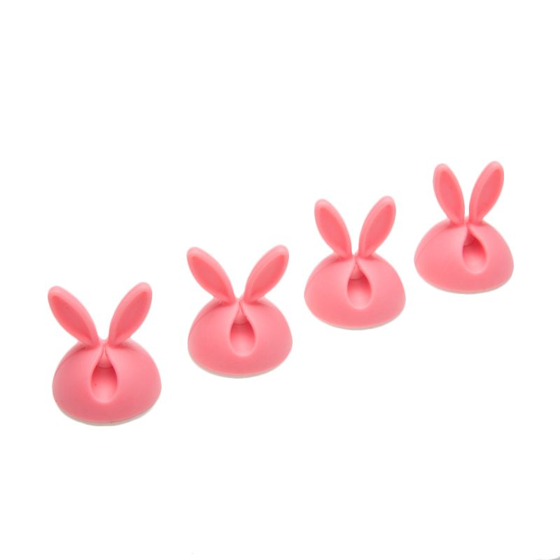 Tokyo1 Rabbit Pink Cable Holder