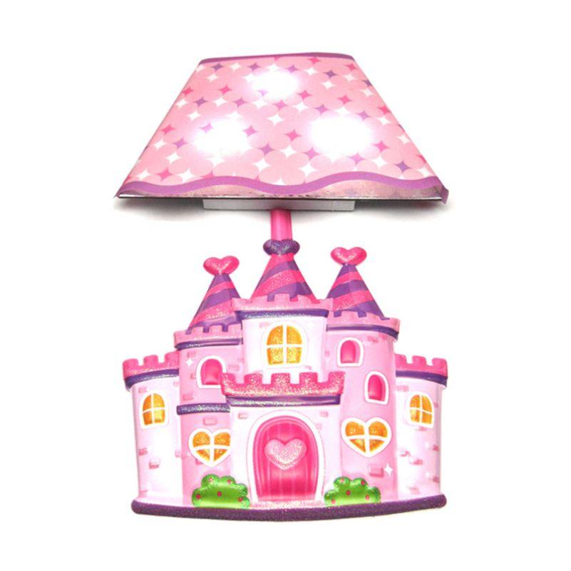 Tokyo1 Istana Stiker Unik Pink Lampu Dinding
