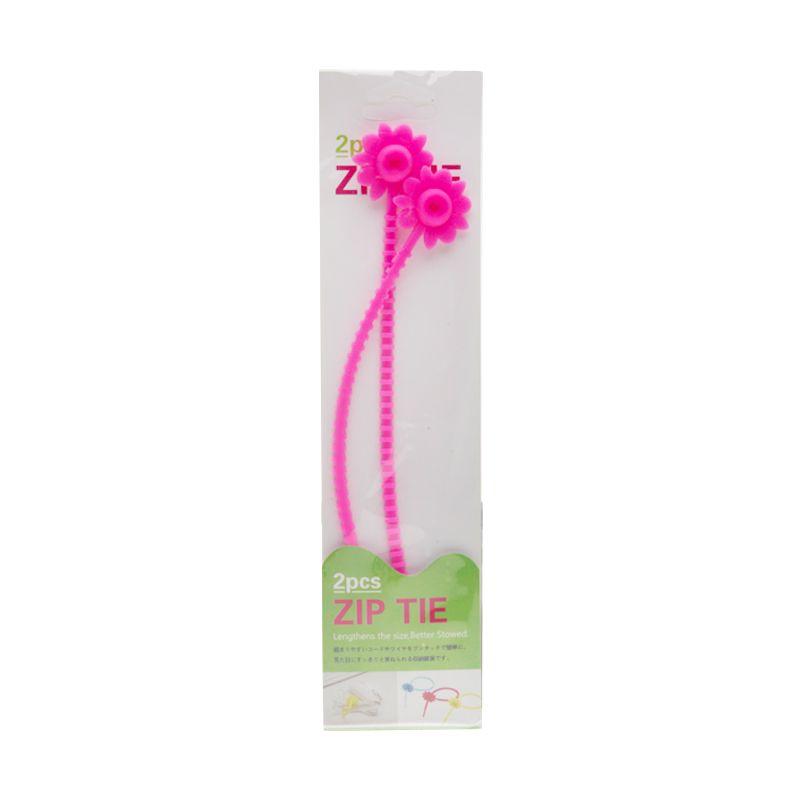 Tokyo1 Sunflower Pink Zip Tie