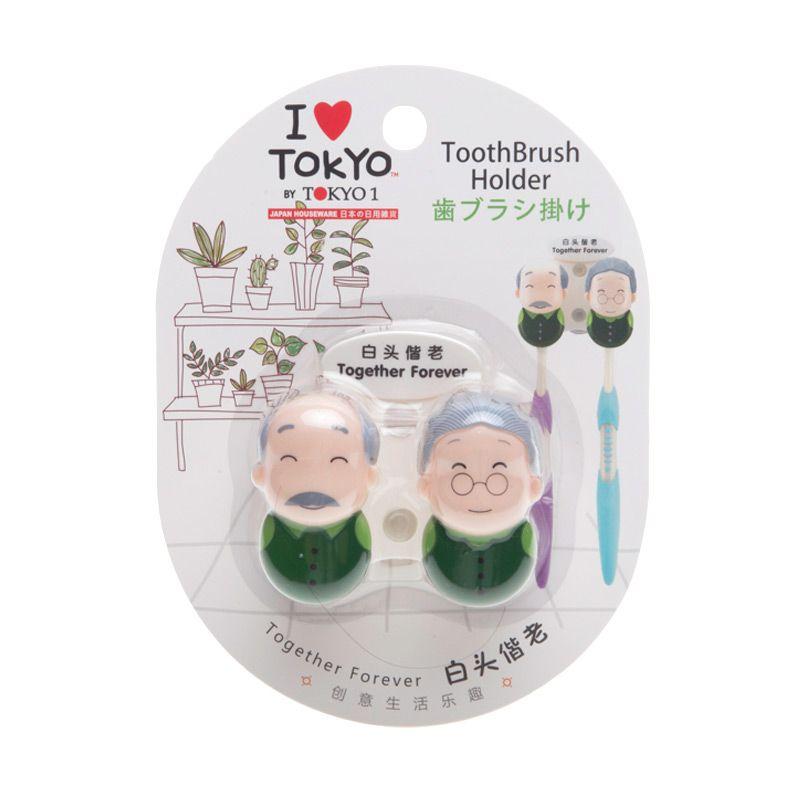 Tokyo1 Together Forever Toothbrush Holder