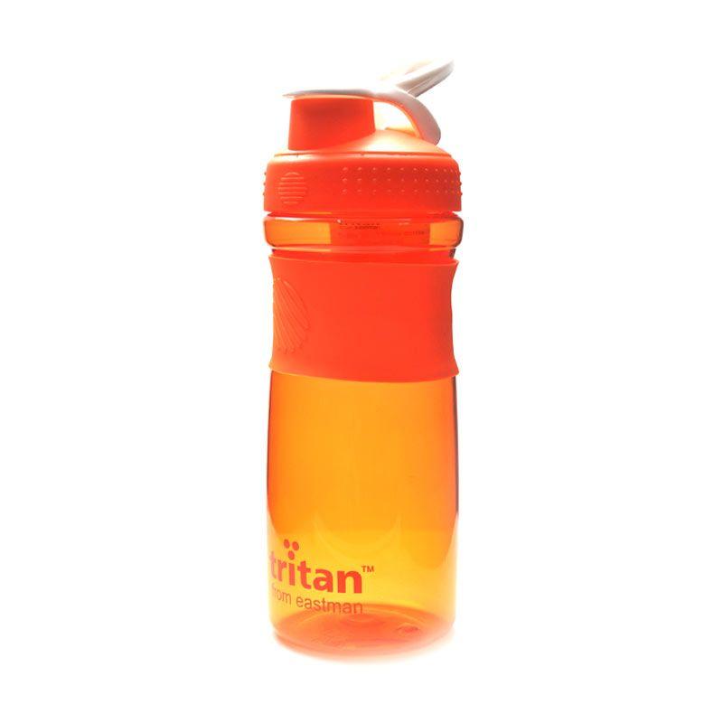 Tritan Botol Minum Click 800 mL Orange