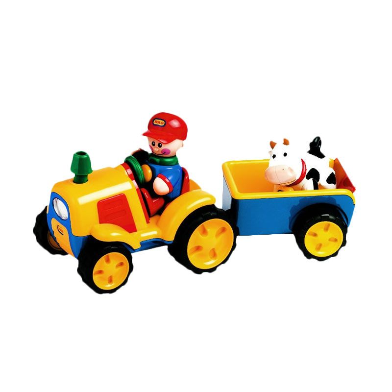 Tolo First Friends Tractor & Trailer Set