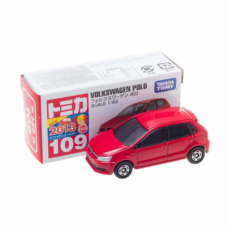 Tomica 109 Die Cast Volkswagen Polo Red