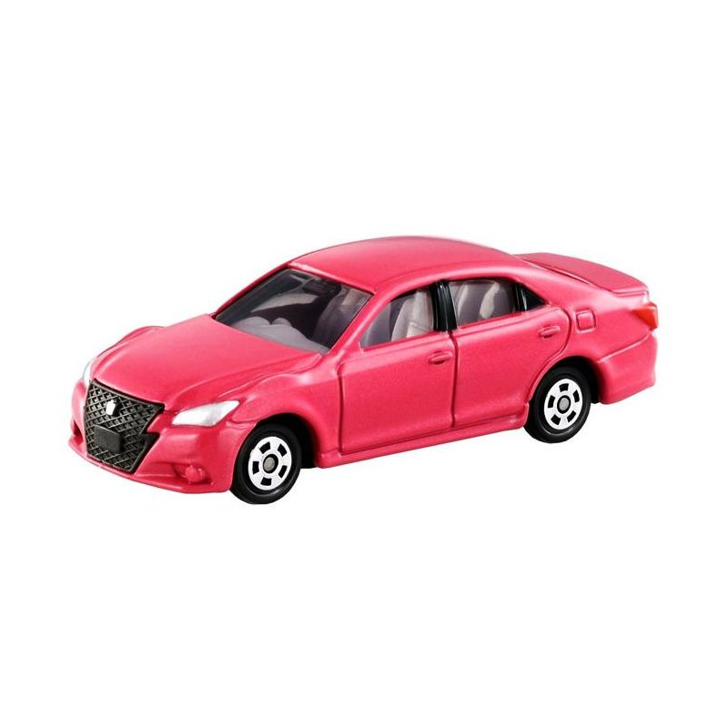 Tomica 92 Toyota Crown Athele Pink Diecast
