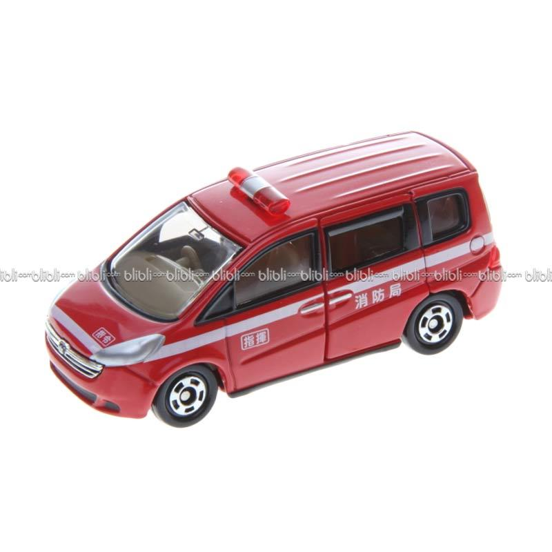 Tomica Diecast Lot 16 Fire Engine - Honda Step Wagon
