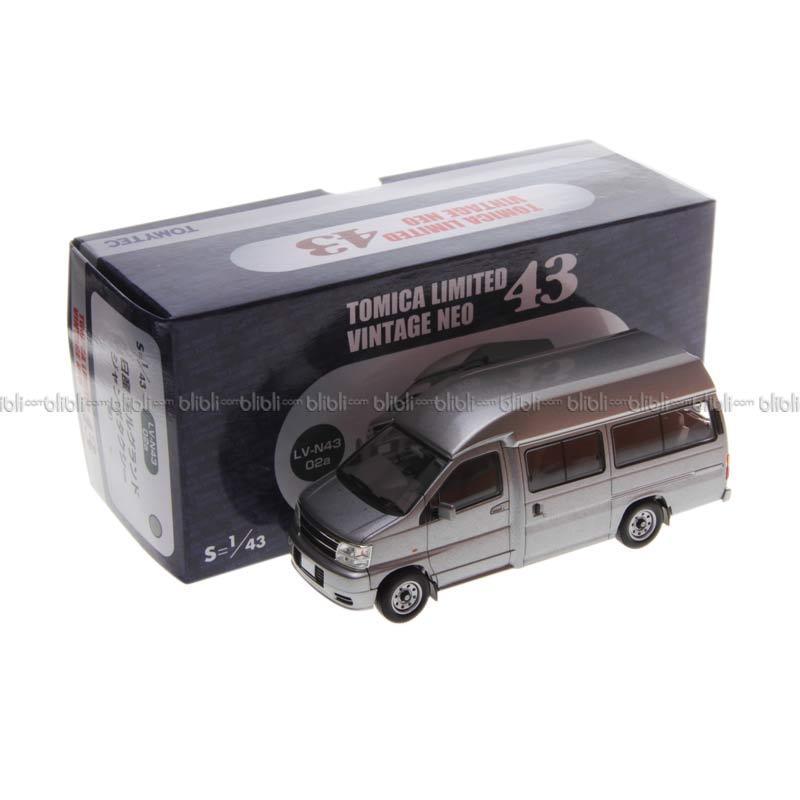 Tomica LV N43-02a El Grand Jambo Taxi Silver