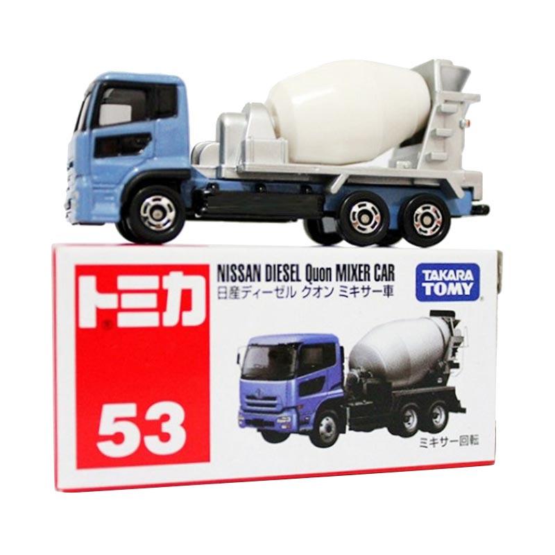 harga Tomica No.53 Nissan Diesel Quon Mixer Car Mainan Anak Blibli.com