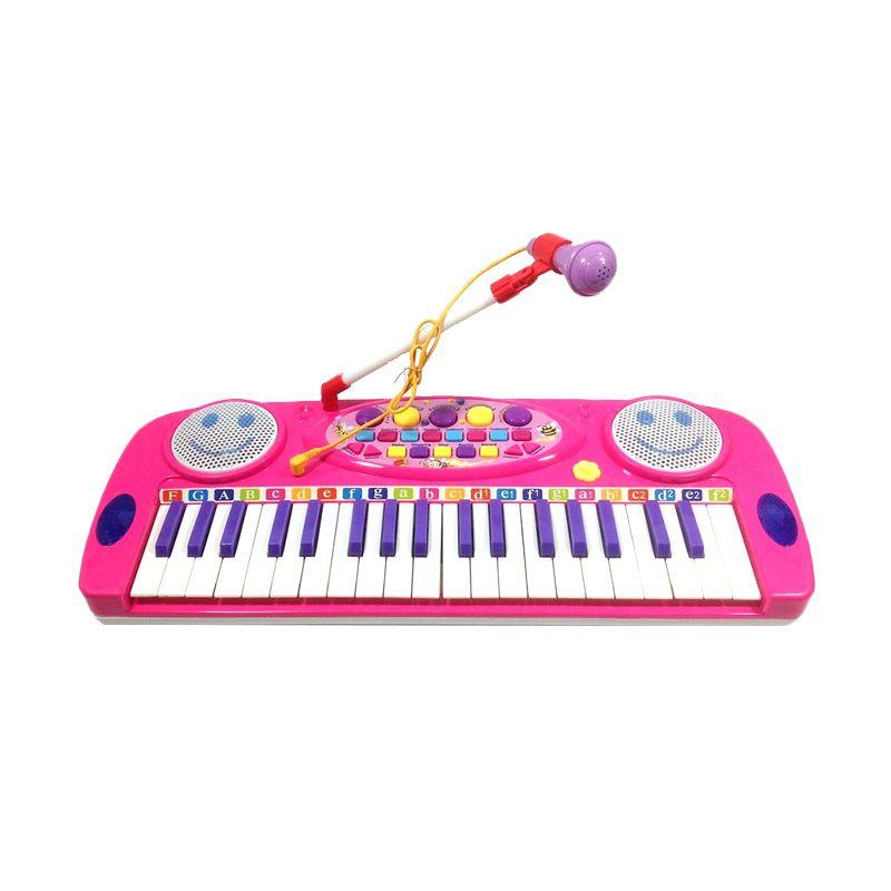 Tomindo Electronic Organ Pink Mainan Anak