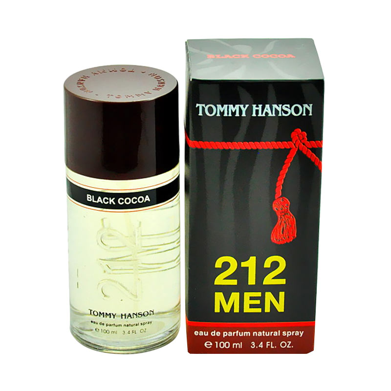 Tommy Hanson 212 Men Chocolate Black Cocoa EDP Parfum Pria [100 mL]