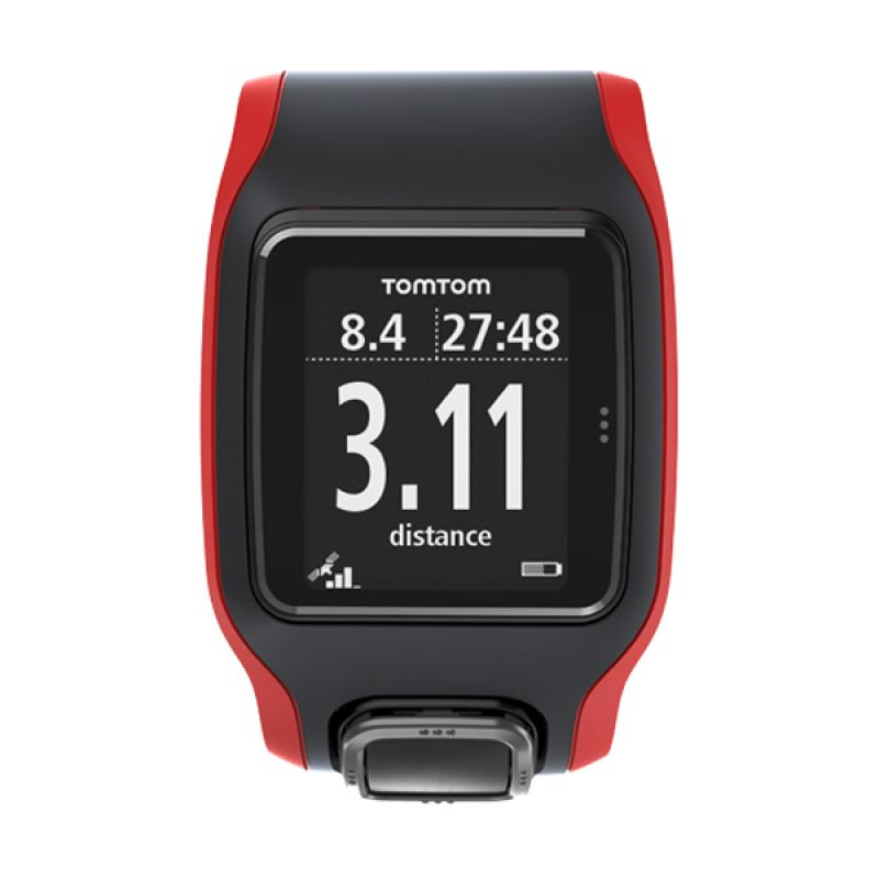 TomTom Multi Sport Cardio Black Red