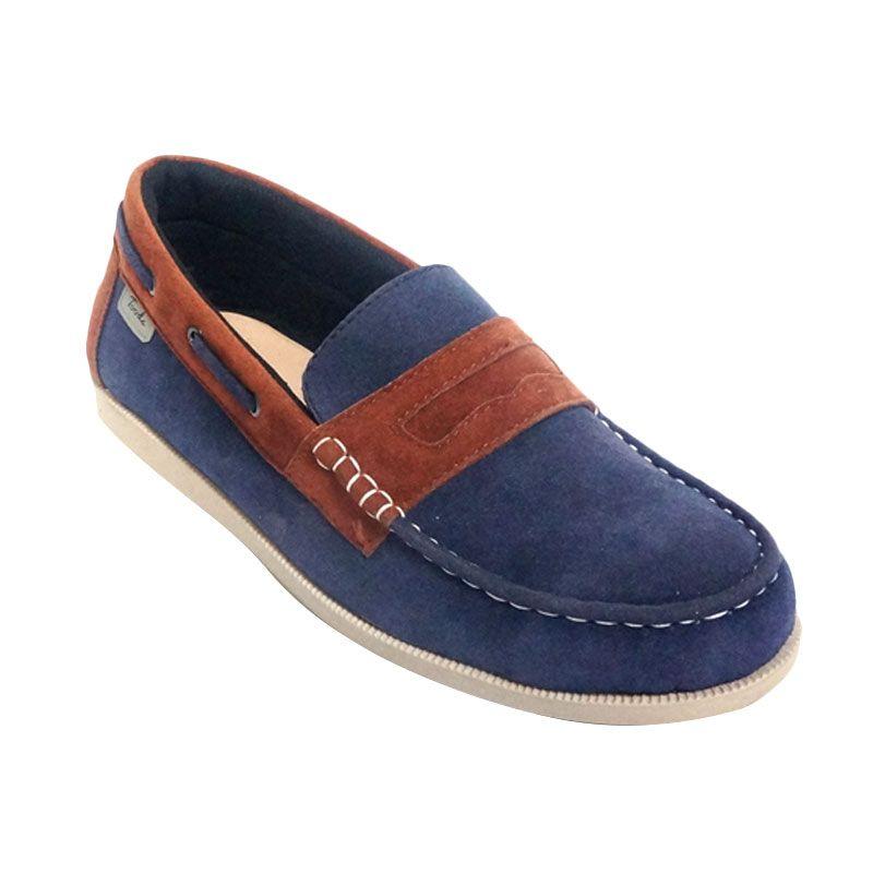 Jual Toods Footwear Loafer Navy Sepatu Pria Online - Harga & Kualitas Terjamin | Blibli.com