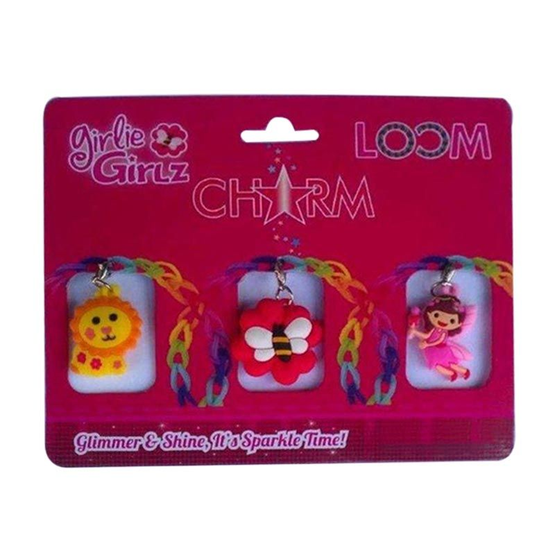 Girlie Girlz TM3217 Double Side Charm for Jewelry