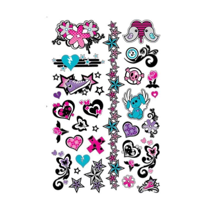 Girlie Girlz 33337 Multicolor Tatto Sticker