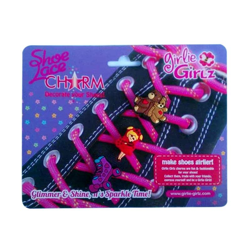 Girlie Girlz Charm for Shoes 33323 Kerajinan Tangan
