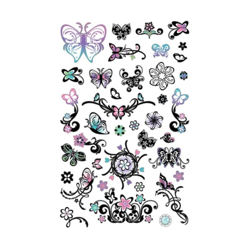 Girlie Girlz Multicolor Tatto Sticker