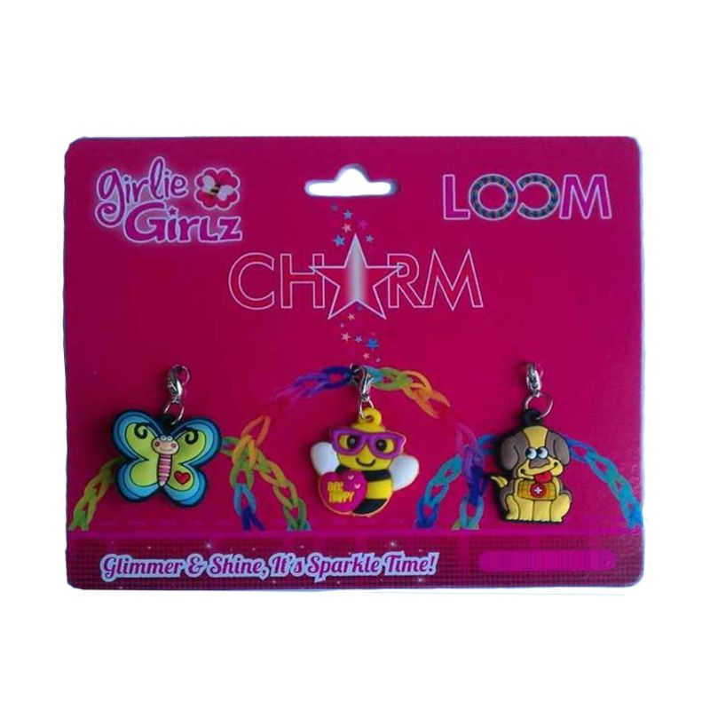 Girlie Girlz Single Side Charm for Jewelry Mainan Anak