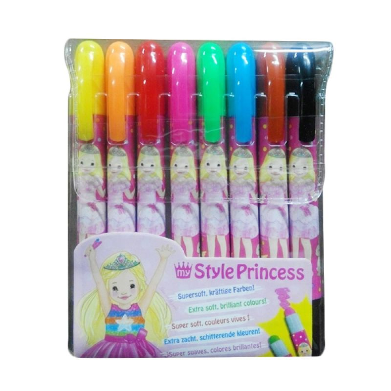 My Style Princess Soft Gelpen Set Alat Tulis [8 Colours]