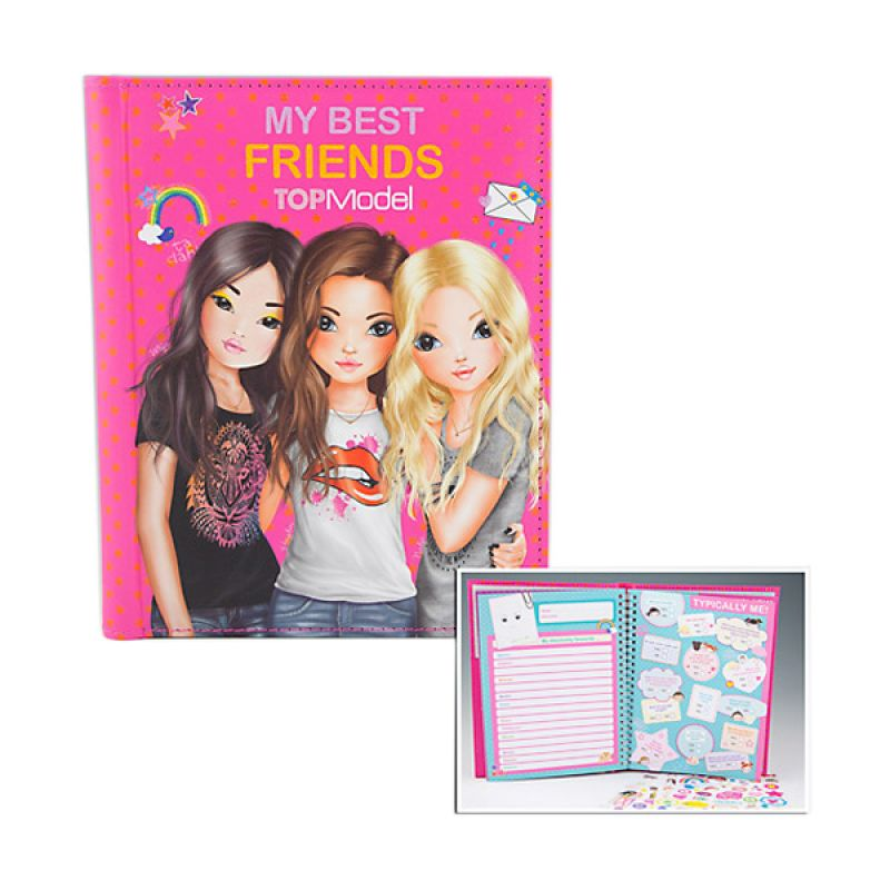 TOP Model Friendship Pink Buku Anak