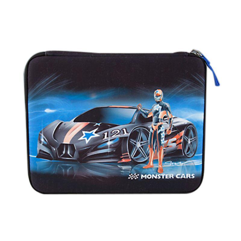 TOP Model TM6118 Monster Cars Filled Pencil Case flat
