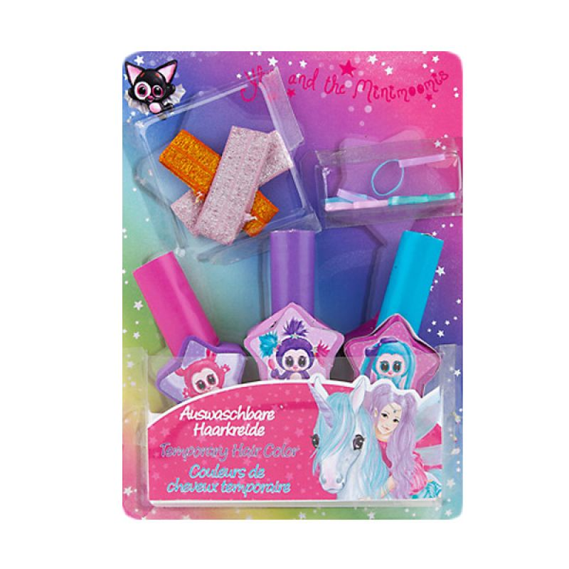 Ylvi & the Minimoomis Hairchalk TM 8388 Set Mainan Anak
