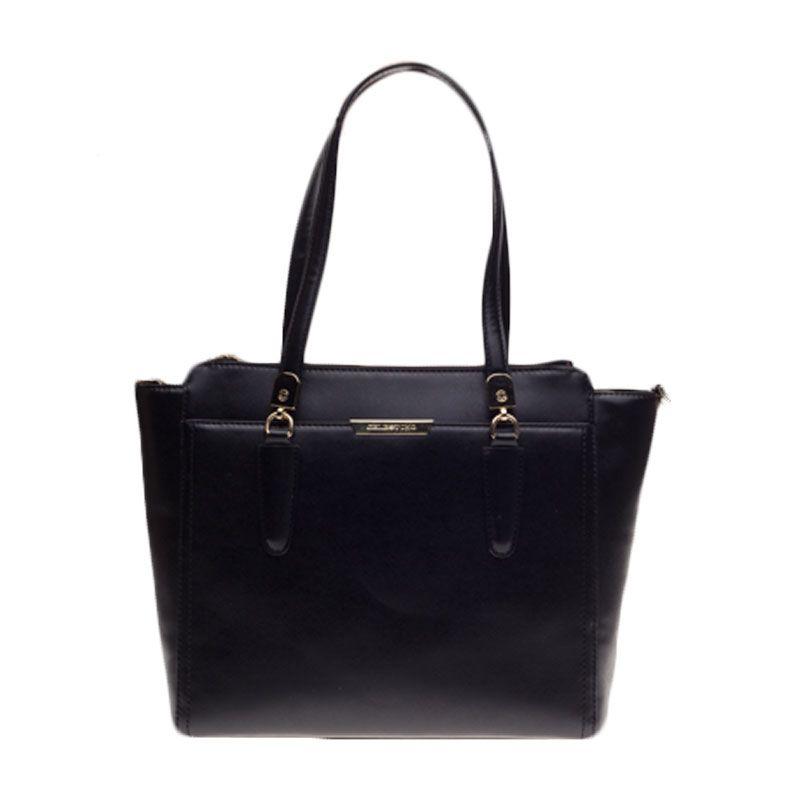 Celestino Madeline Black Carry All Bag Tas Selempang [L]