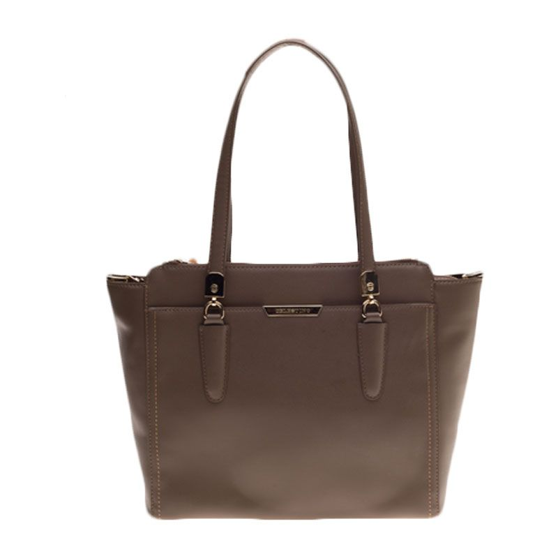 Celestino Madeline Taupe Carry All Bag Tas Selempang [L]