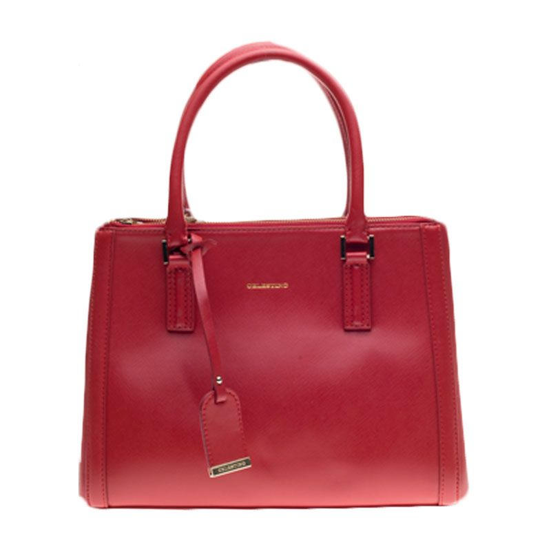 Celestino Madeline Red Tote Bag Tas Tangan [M]