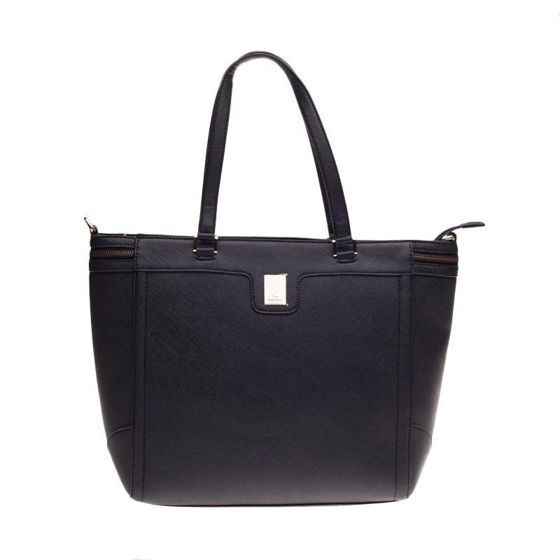 Lescatino Amarilis Black Tote Bag Tas Selempang
