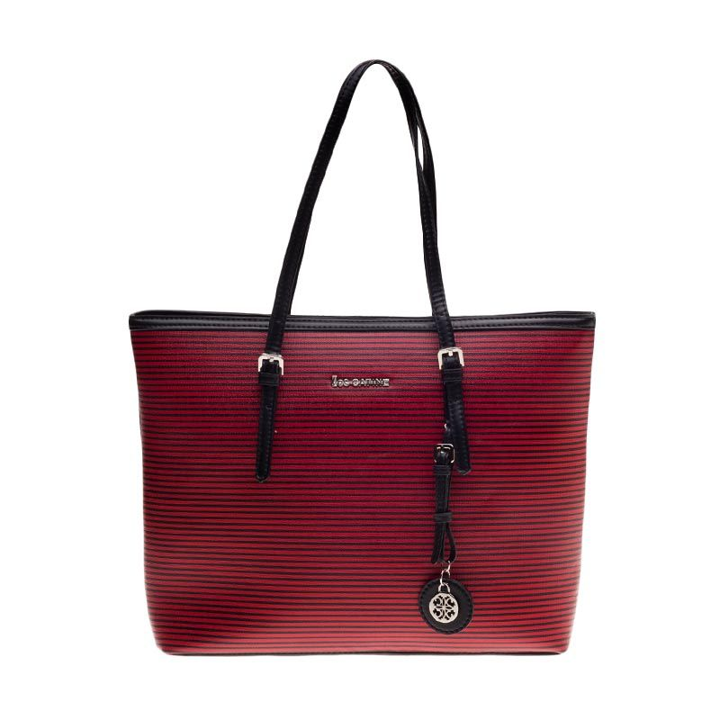 Lescatino Micores FS Black and Red Tas Tangan