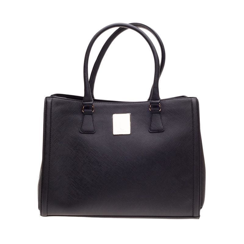 Lescatino Fraser Black Tote Bag Tas Selempang