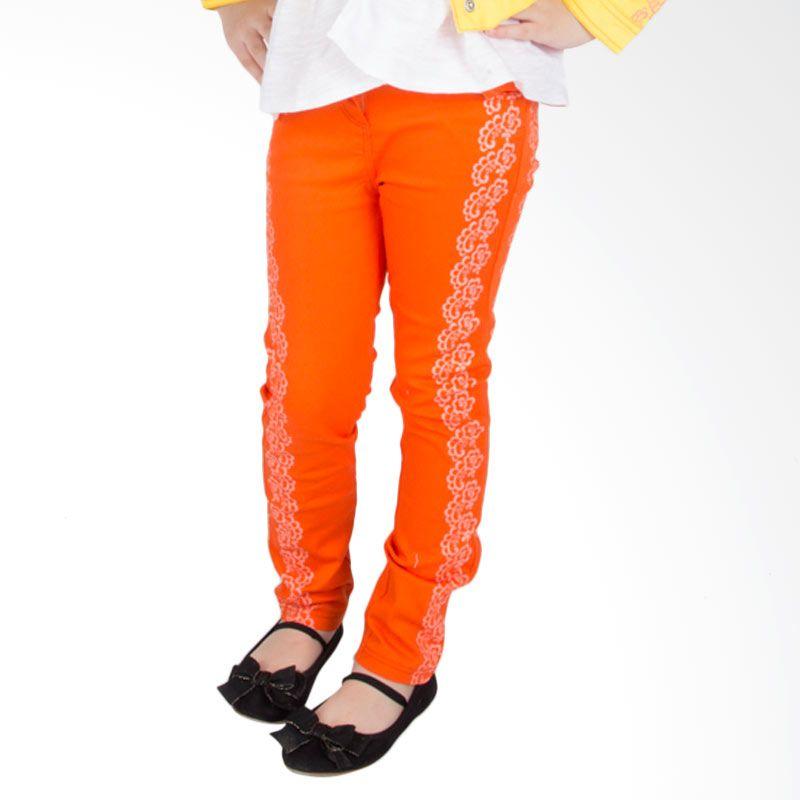 Torio Golden Field Fine Twill Orange Celana Panjang