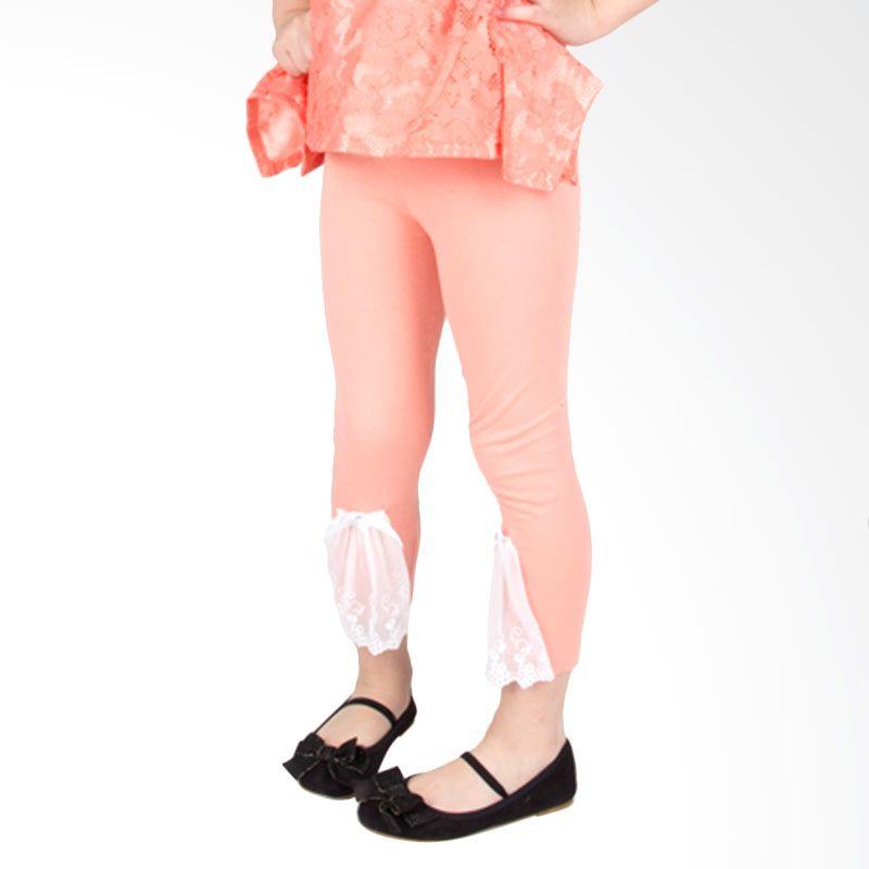 Torio Golden Field Spandex Peach Legging Anak