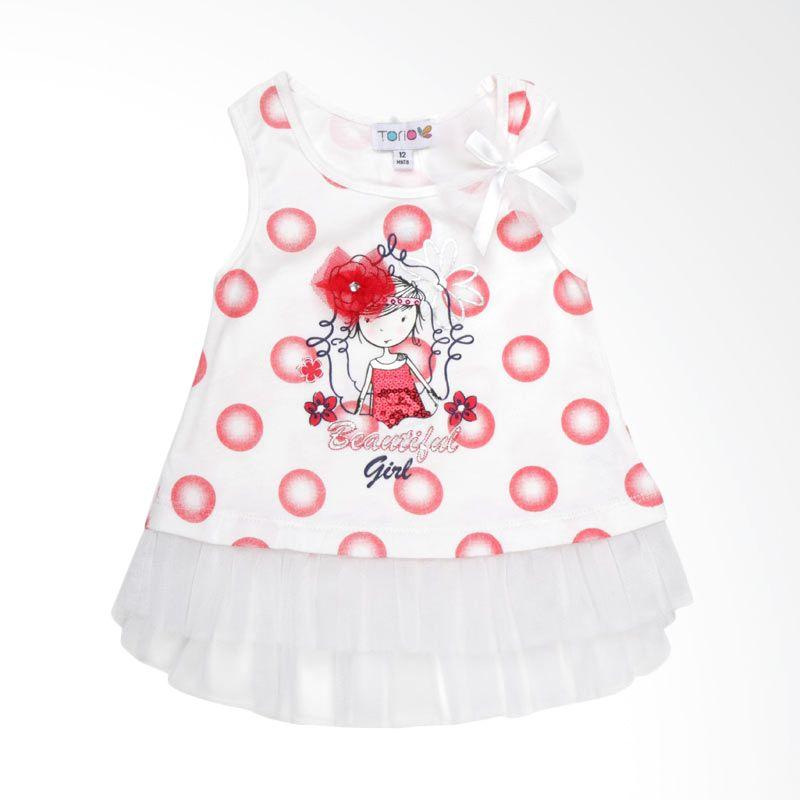 Torio La Promenade Flutter Dress Anak