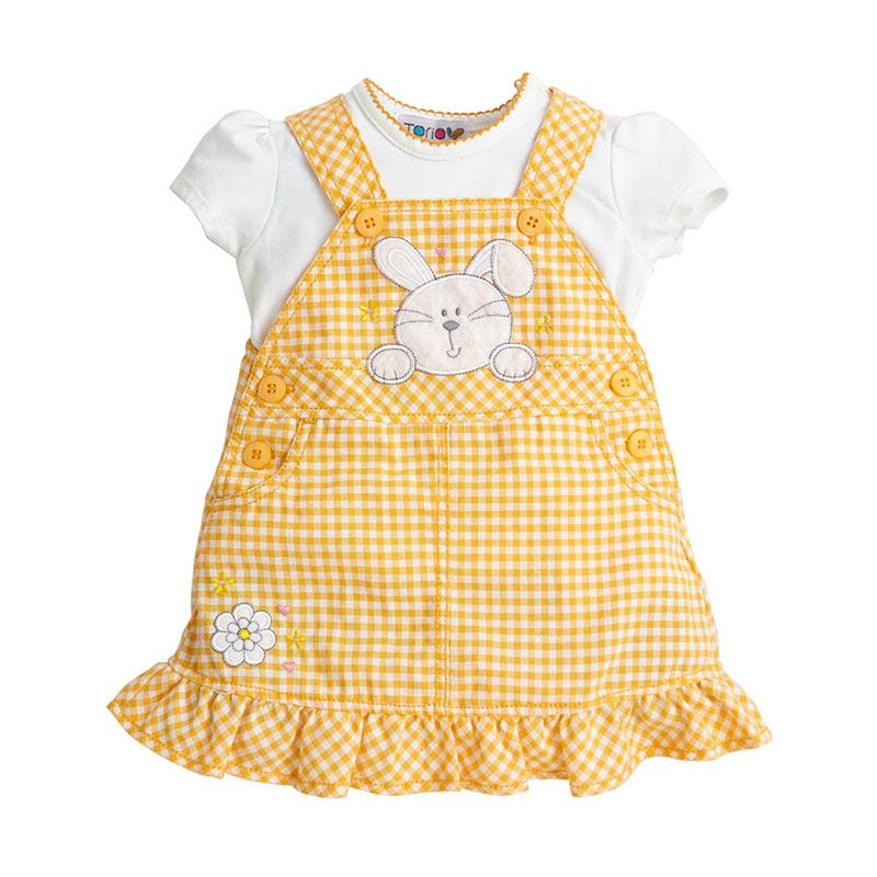Torio Lil Bunny C276 50-700 Orange Blossom Overall Set
