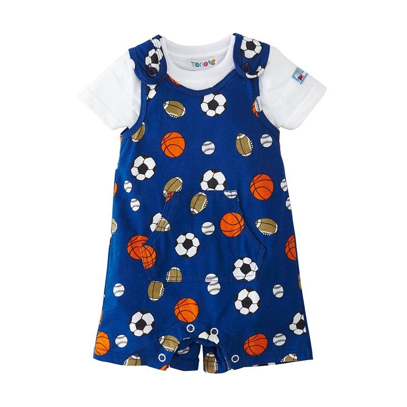 Torio Play Ball C279 50-709 Dungaree Set
