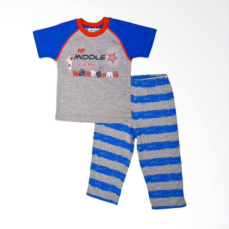 Torio Set Blue Baju Tidur Anak