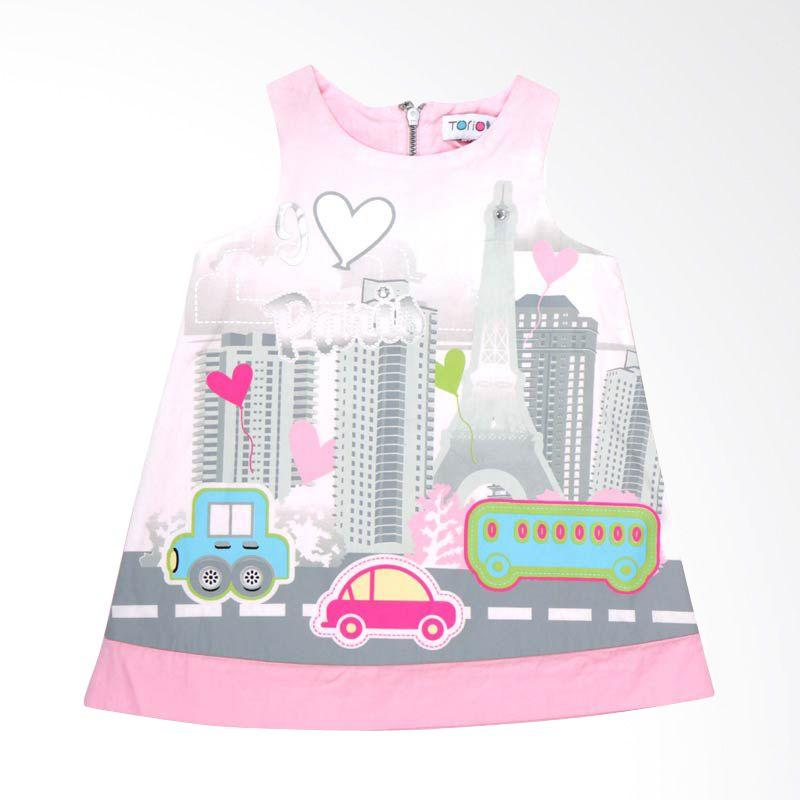 Torio Summer Travel Casual Dress Anak