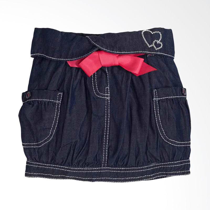 Torio Summer Travel Denim Skirt 81-160