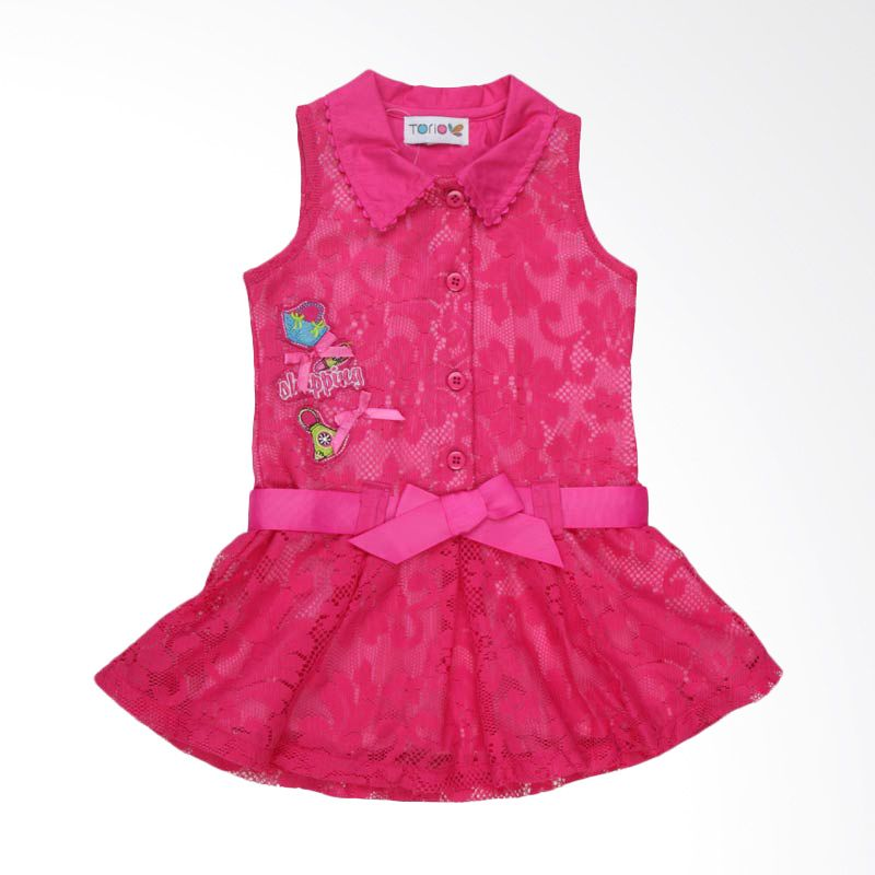 Torio Summer Travel Party Dress Anak