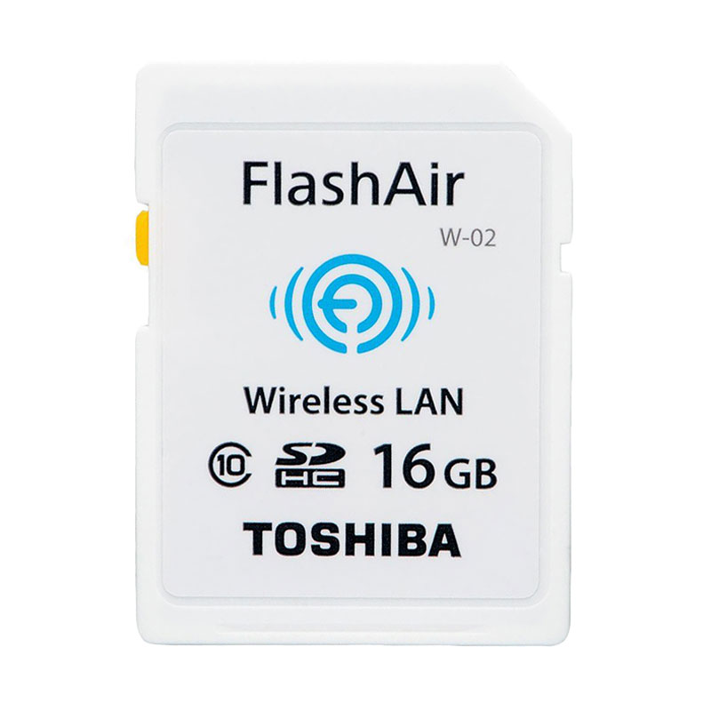 Thosiba Flash Air Wireles SD Card Putih (16gb class 10)