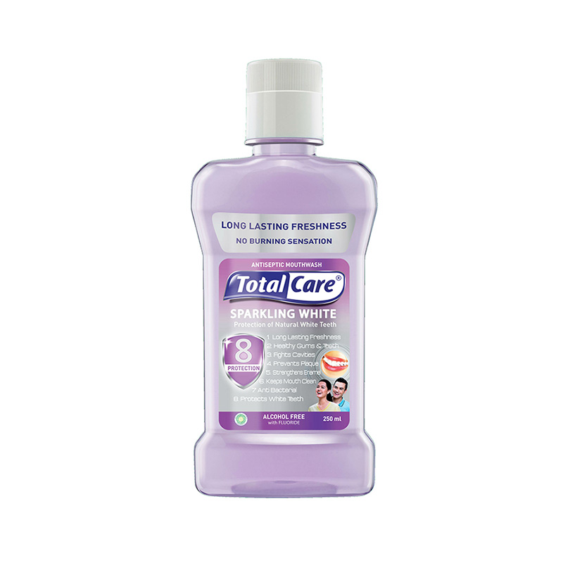 Total Care Mouthwash Sparkling White 8 Protection [250 mL]