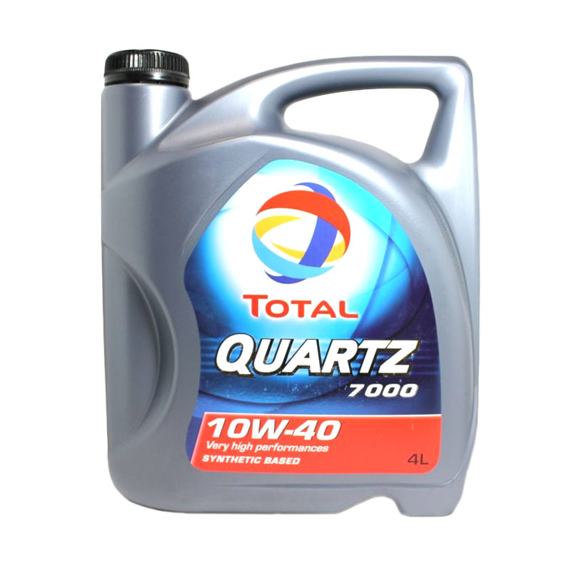 Jual Total Quartz 7000 10W 40 Synthetic Based Oli Pelumas